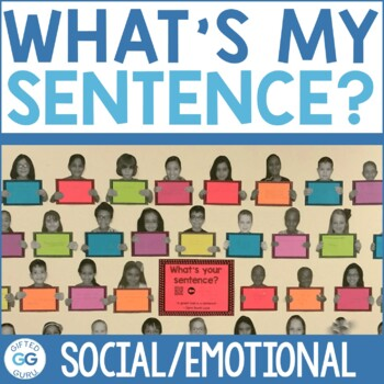 What's Your Sentence? Free Printable Motivation Activity