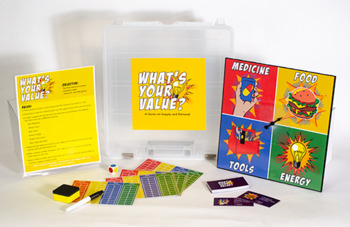 What's Your Value: A Game on Supply and Demand