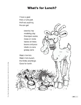 What's for Lunch? (poem)