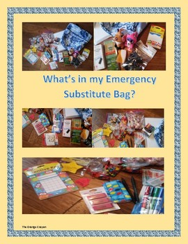 What's in My Substitute Bag?