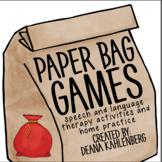 Paper Bag Games: What's in Santa's Bag?