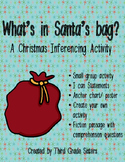 What's in Santa's Bag- A Christmas Inferencing Activity