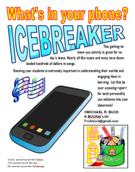 What's in Your Phone? ICEBREAKER