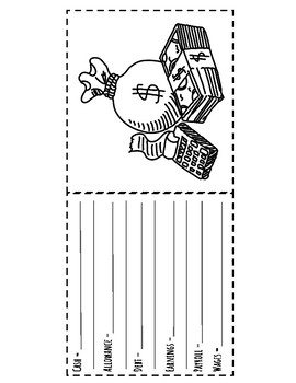What's in Your Wallet Personal Financial Literacy Paper Bag Book