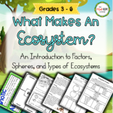 What Makes an Ecosystem?  An Intro to Ecosystems  *The Red Apple Exchange*