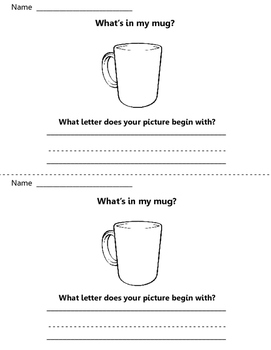 What's in my mug? Write to Learn