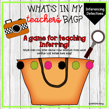 What's in my teacher's bag?