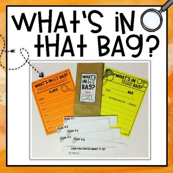 What's in the Bag? Inferring Activity