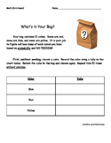 What's in the Bag Probability Experiment
