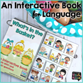 Interactive Book |  Easter or Spring | WH Questions and Concepts
