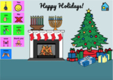 What's in the GIFT? Multi-Holiday Green Screen Background Activity
