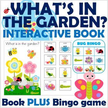What's in the Garden Interactive Book plus Bug Bingo!