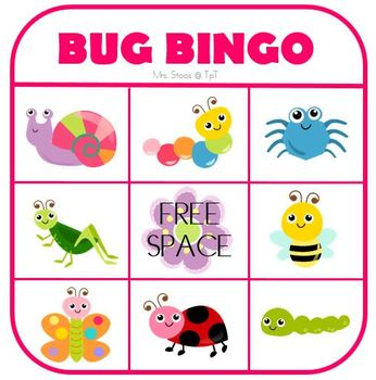 What's in the Garden Interactive Book plus Bug Bingo!