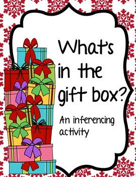What's in the Gift Box?  A Holiday Inferencing Activity