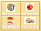 What's in the Grocery Bag? - 28 Clip Card Vocabulary Activity
