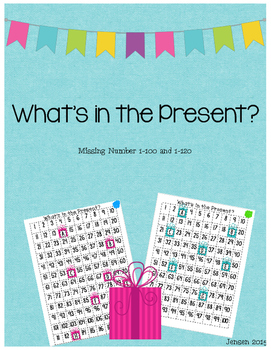 What's in the Present? 100/120 Missing Number Game