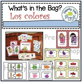 What's in the bag? Los colores