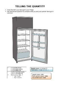 What's in your fridge? (some / any)