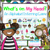 What's on My Head? An Alphabet Inferring Game