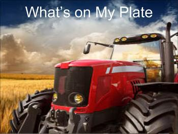 What's on My Plate Review Game