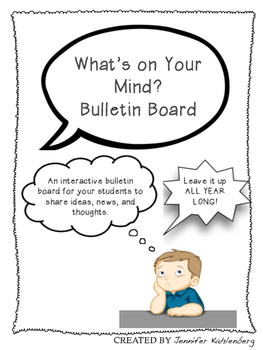 What's on Your Mind? Bulletin Board