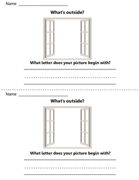 What's outside? Write to Learn