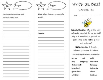 What's the Buzz? Trifold - Open Court 5th Grade Unit 4 Lesson 6