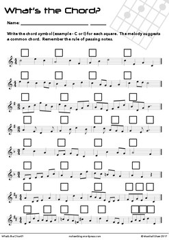 What's the Chord?
