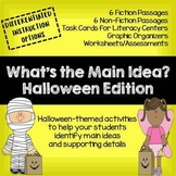 NEW! What's the Main Idea? Halloween Edition (Main Idea and Details)