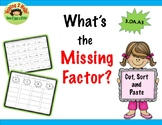 Multiplication and the  Missing Factor?