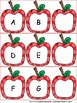 What's the Missing Letter? An Apple Themed Alphabet Literacy Center