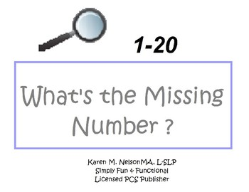 What's the Missing Number! 1-20