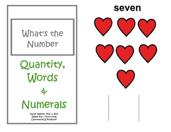 What's the Number? Quantity, Words and Numerals