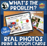 What's the Problem?  Print & Digital Real Photo Cards for