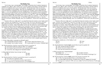What's the Proof? Citing Text Evidence