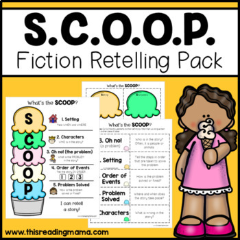 What's the SCOOP? Story Retelling Pack