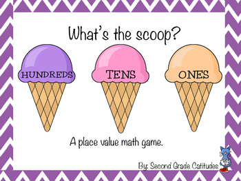 What's the Scoop? A Place Value Game