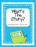 What's the Story? writing about math