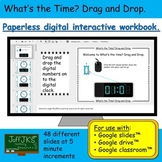 What's the Time? Drag and Drop Google Classroom Interactiv