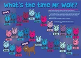 What's the Time Mr Wolf? - NZ Board Dice Game -