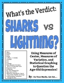 What's the Verdict: Sharks vs. Lightning? Modes of Center, Spread, and More!