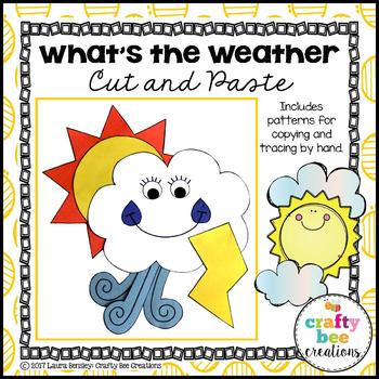 weather craft what s the weather by crafty bee creations tpt