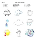 What's the Weather Worksheet