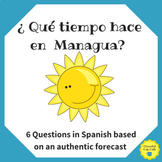 What's the Weather in Managua? Forecast Questions Worksheet