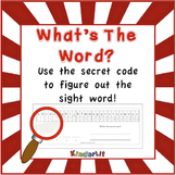 Alphabet Secret Code Worksheets FREEBIE