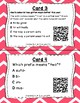 What's the Word Part? QR Code Task Cards Set 2 IREAD PHONICS