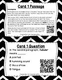 What's the Word? QR Code Task Cards Set 2 IREAD Practice