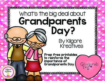 What's the big deal about Grandparents Day {prep free printables}