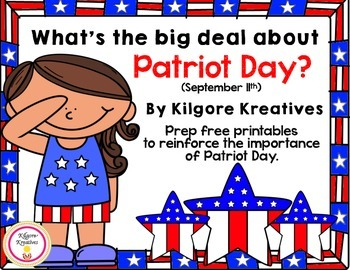 What's the big deal about Patriot Day? {prep free printables about 9/11}