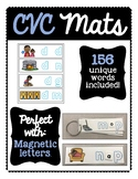 What's the missing VOWEL?: CVC Mats